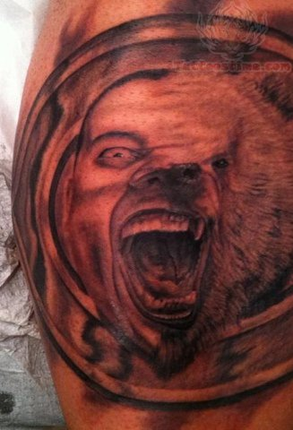 Chicago Bears 3D Tatto...