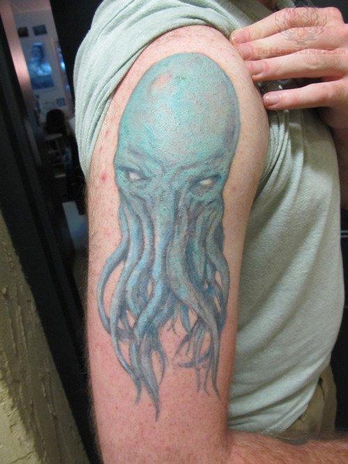 cthulhu tattoo images  u0026 designs