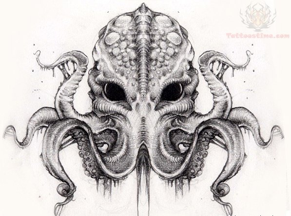 Cthulhu Tattoo Images amp Designs