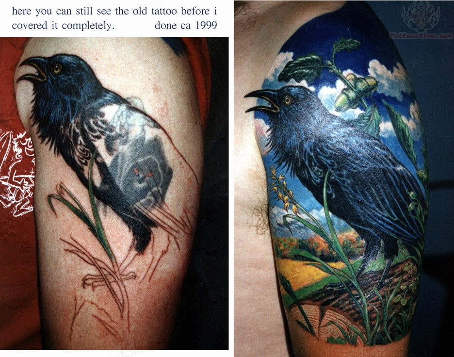 Colorful Half Sleeve Tattoos
