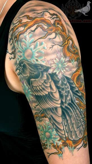 Tree Sleeve Tattoo
