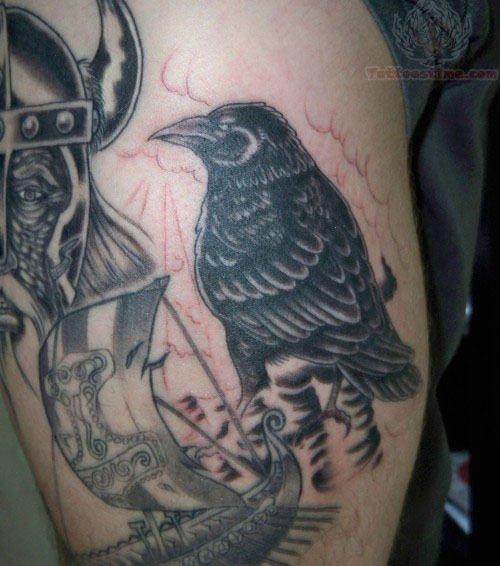 Raven Viking Tattoo: Raven Tattoo Images & Designs
