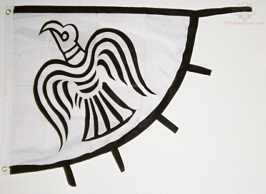 Raven tattoo images designs for Ragnar head tattoo stencil