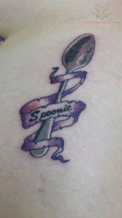 Banner Spoonie And Spoon Tattoo