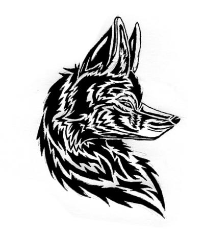 Fox Tattoo Design Fox Tribal Face Tattoo Design