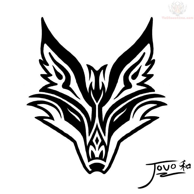 about 39 tribal fox tattoo 39 celebrity tattoos megan fox jonell sergent 39 s blog. Black Bedroom Furniture Sets. Home Design Ideas