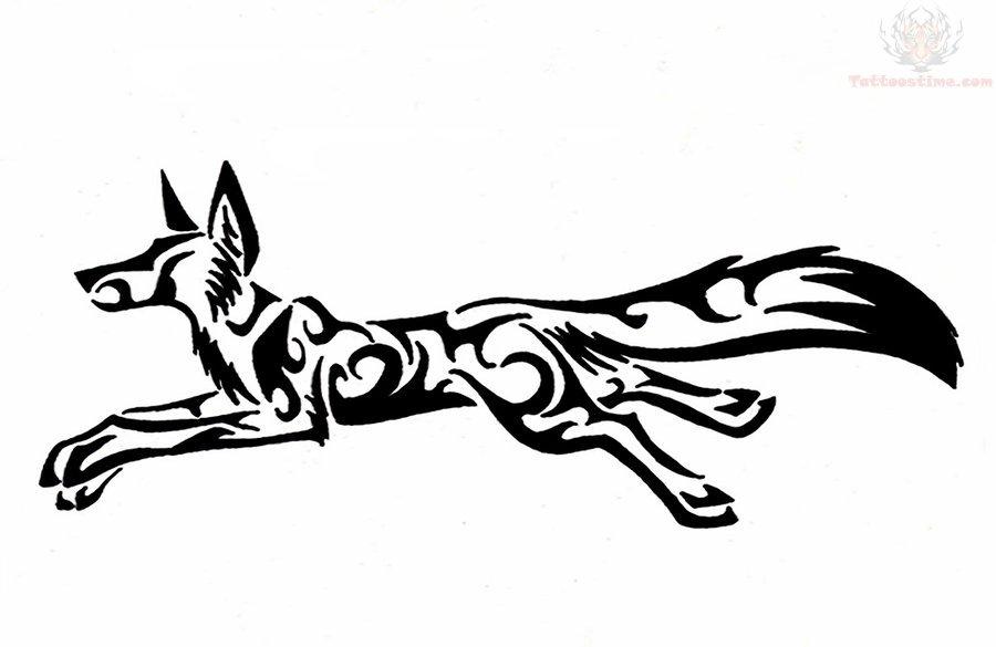 Running Fox Tribal Tat...