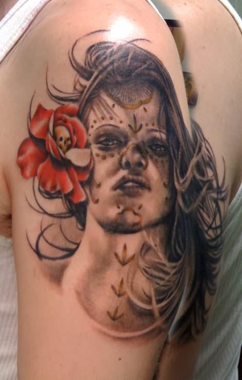 DIA De Los Muertos Tattoos