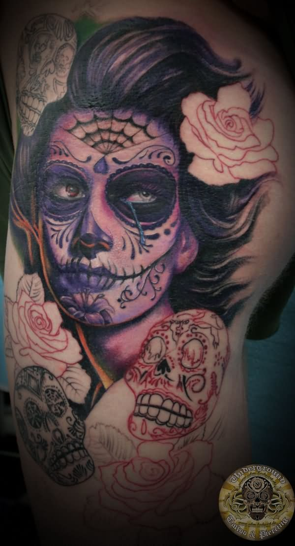 1000 images about candy skull tatto on pinterest. Black Bedroom Furniture Sets. Home Design Ideas