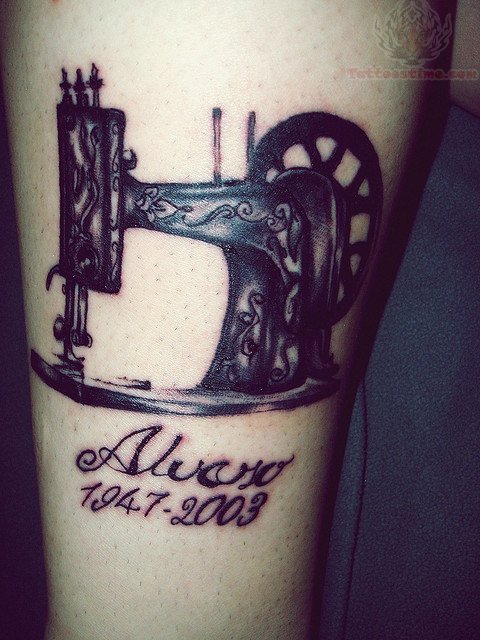 Sewing Tattoo Images & Designs