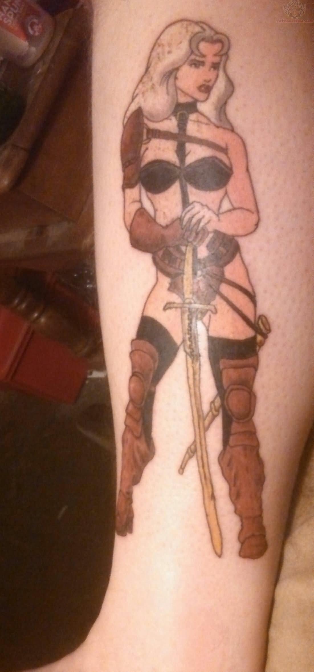 Taarna Tattoo On Arm
