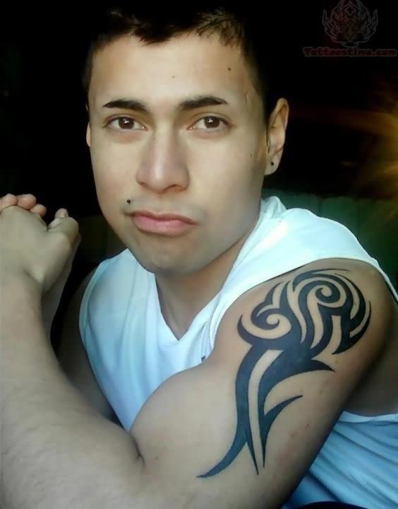 Tribal Tattoo For Boys