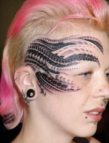 Girl tattoos face update