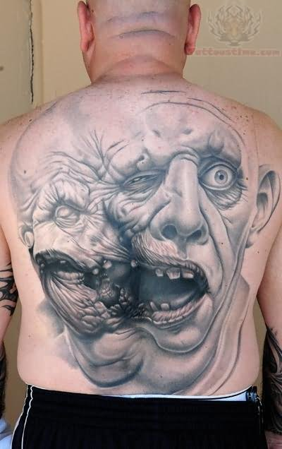 Back Tattoo Images Designs