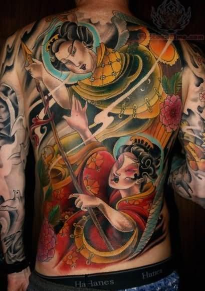 Com Img Src Http Www Tattoostime Images 296 Geisha Japanese Tattoo