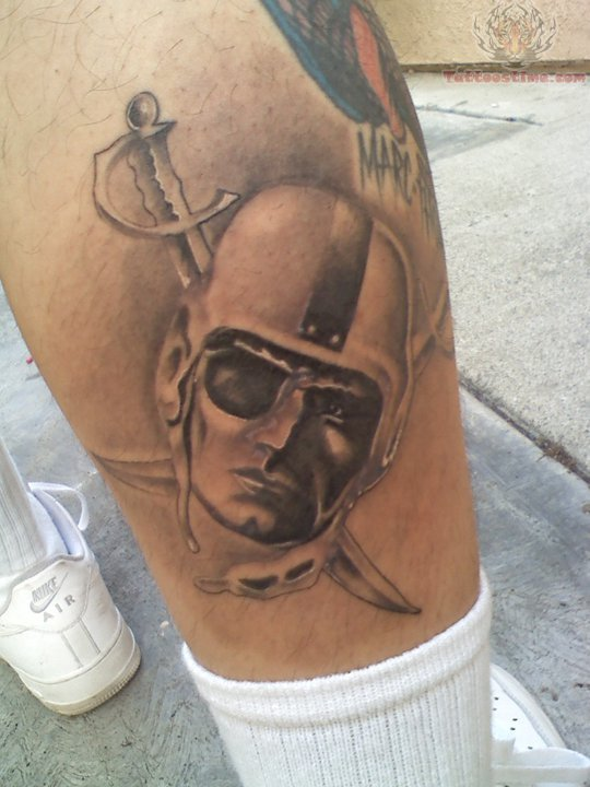 Oakland Raiders Tattoo Images Amp Designs