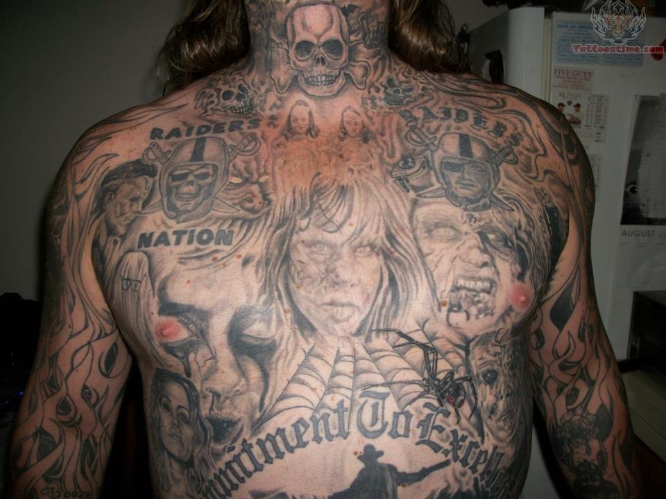 Raiders Tattoo Skull Raiders Letteri