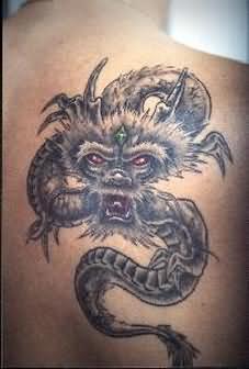 Face of the Dragon Tattoo - TattooSymbol.com