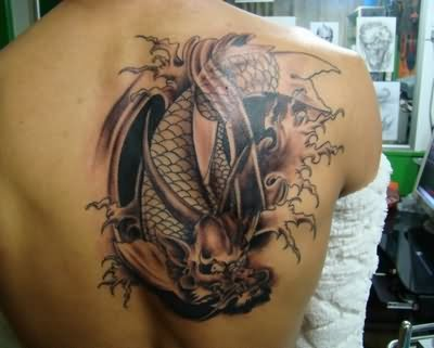Chinese Dragon Tattoos Symbol On Back