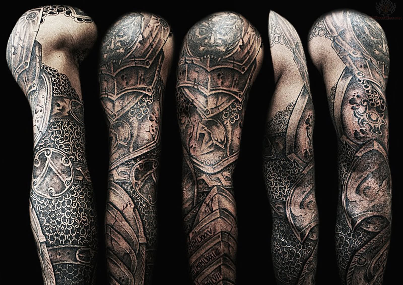 Scottish Tattoo Sleeve