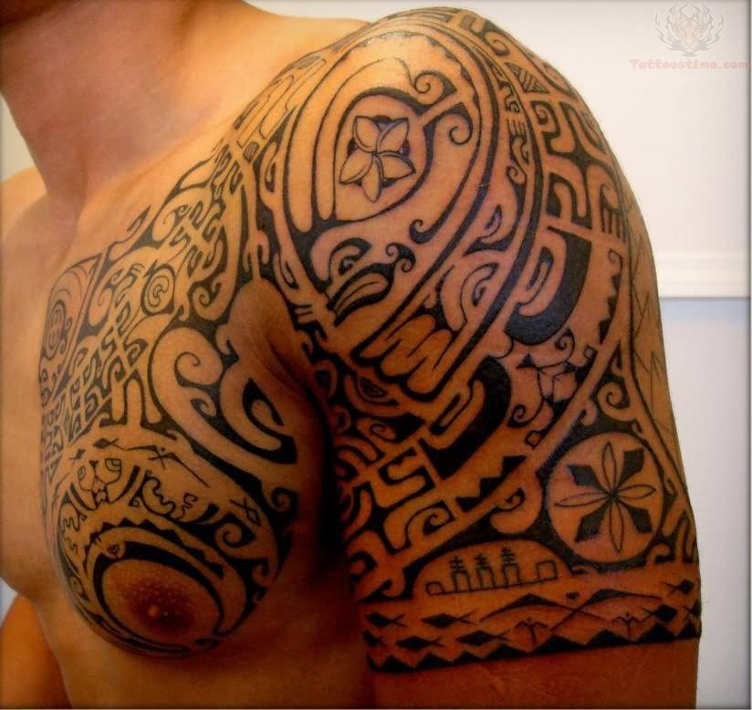 Armor tattoo images designs - Tatouage homme epaule ...