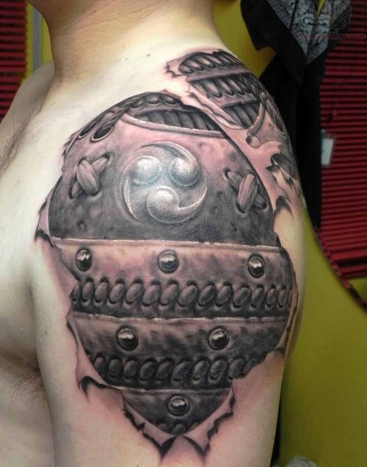 Samurai Armor Tattoo