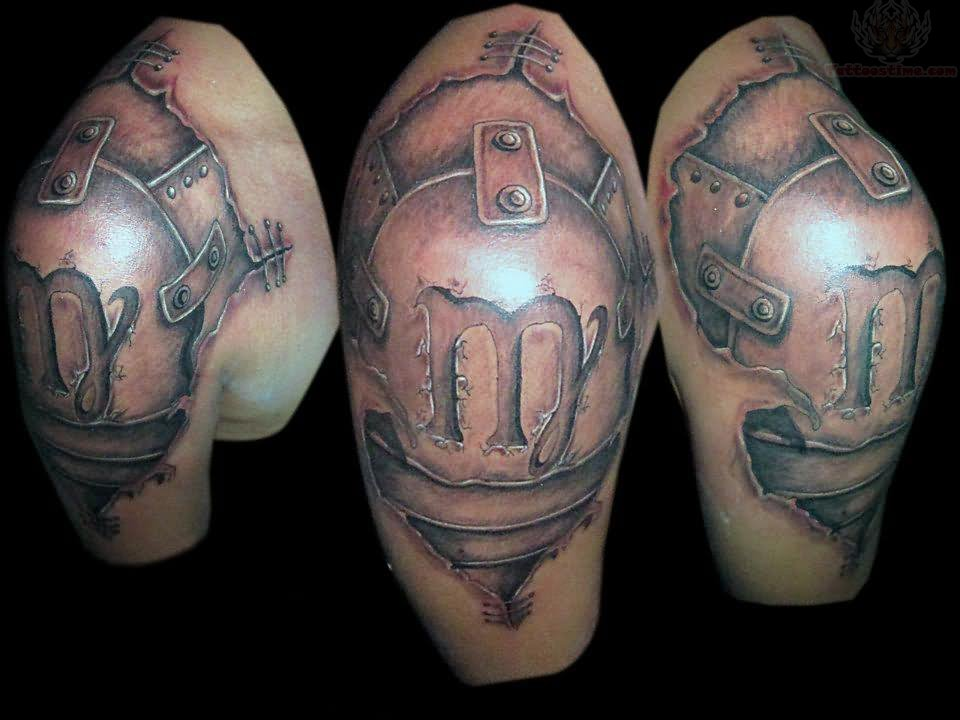 Zodiac Armor Tattoo