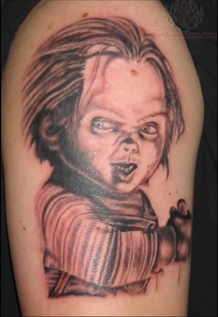 fc134efe9 Beautiful Chucky Face Tattoo