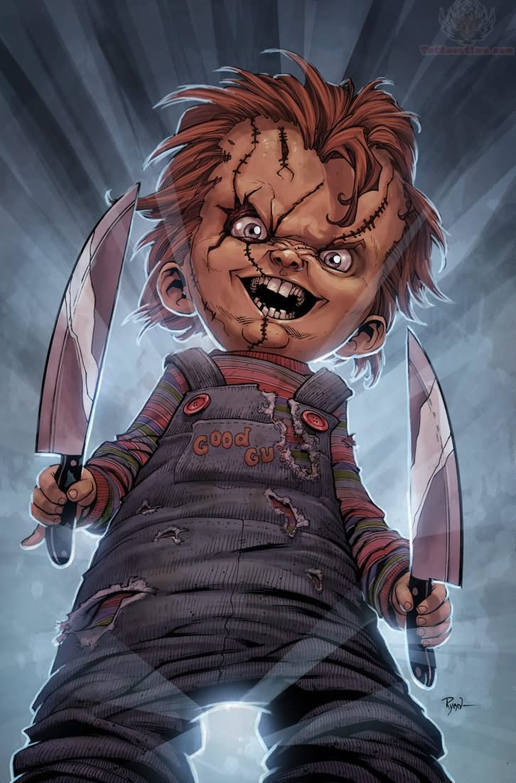 Chucky With Knife