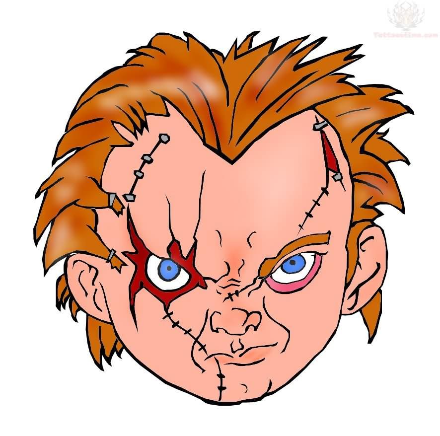 Chucky drawings