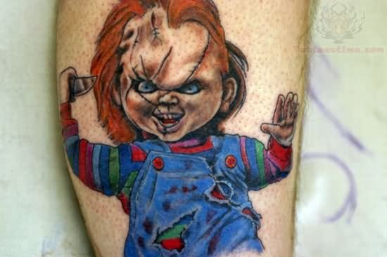 Chucky Tattoo Images amp Designs