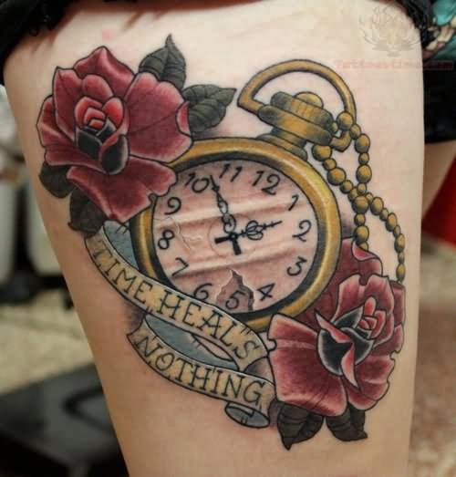 Time Heale Nothing