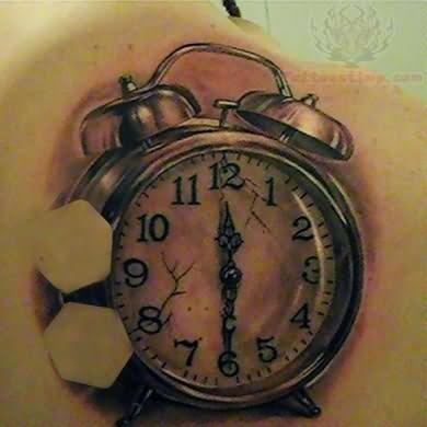 Clock Tattoo Images & Designs  |Alarm Clock Tattoo