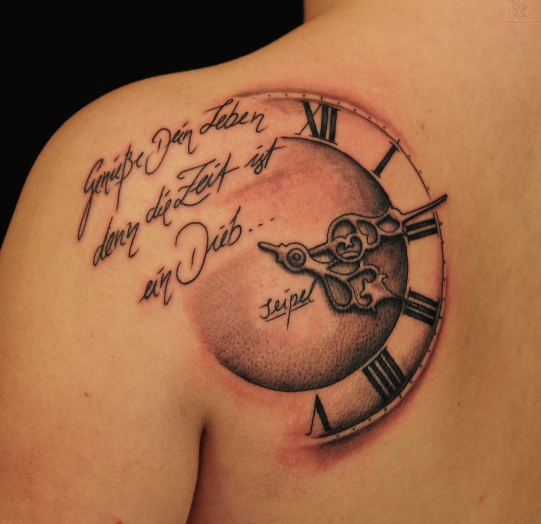 Sand Clock Tattoos Submited Images