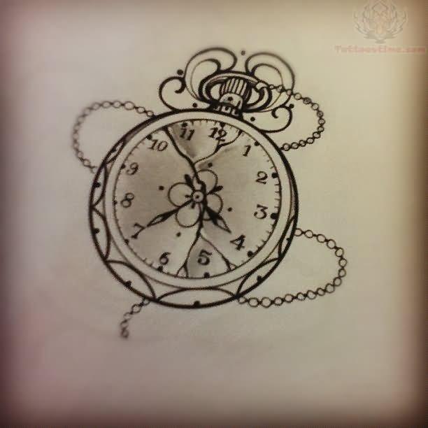 Clock Tattoos Page 6