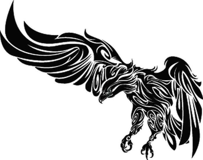 tattoo eagle tribal Tribal Pattern Tattoo Eagle