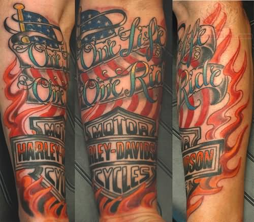 harley davidson tattoo images amp designs