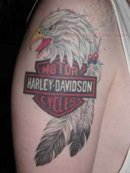 Harley davidson tattoo images designs for Free harley davidson tattoo designs