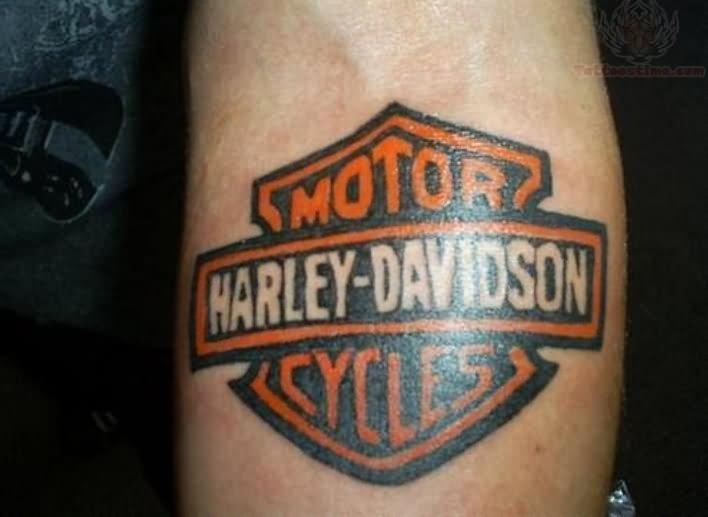 Tattoo logo harley davidson joy studio design gallery for Free harley davidson tattoo designs