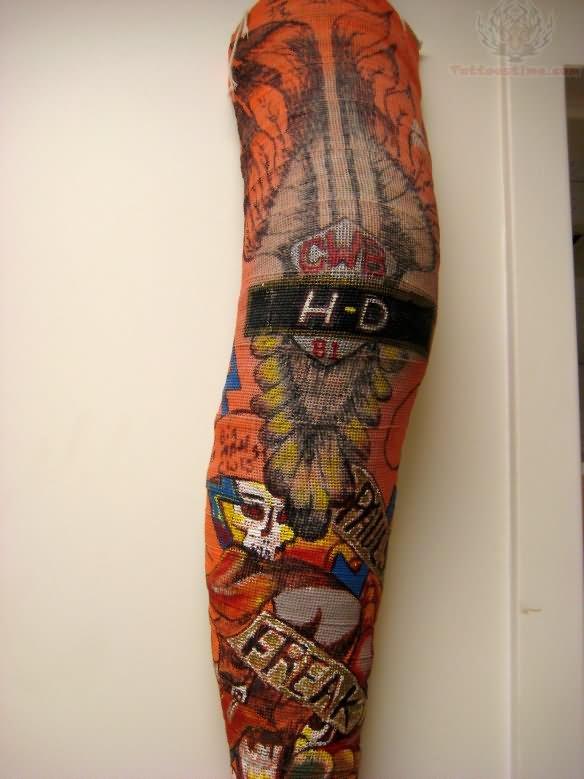 harley davidson tattoos page 12. Black Bedroom Furniture Sets. Home Design Ideas