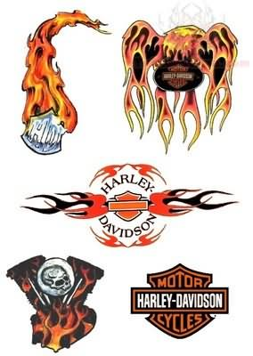 Harley davidson tattoos designs for Free harley davidson tattoo designs