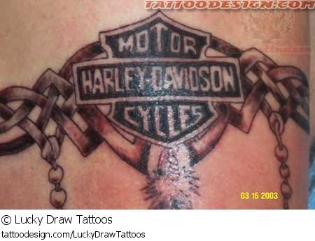 Harley Davidson Tattoo Images & Designs - photo#34