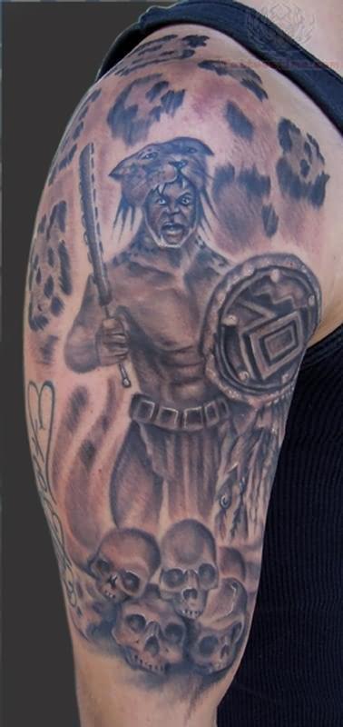Jaguar tattoo images designs for Jaguar warrior tattoo