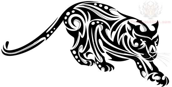 tribal jaguar tattoo design image. Black Bedroom Furniture Sets. Home Design Ideas