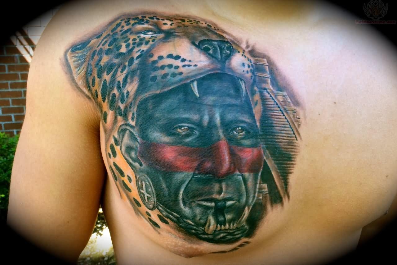 Jaguar Warrior Tattoo