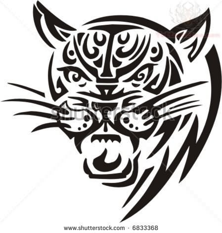 Tribal Jaguar Tattoo Designs on totem animals and meanings