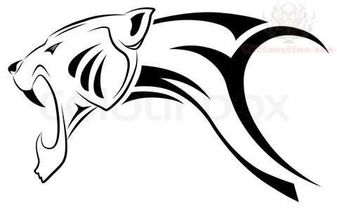tribal car vector sticker Jaguar & Images Tattoo Tribal Designs