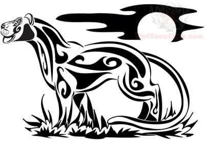 tribal panther tattoo design rh tattoostime com panther tribal tattoos pictures tribal panther head tattoo