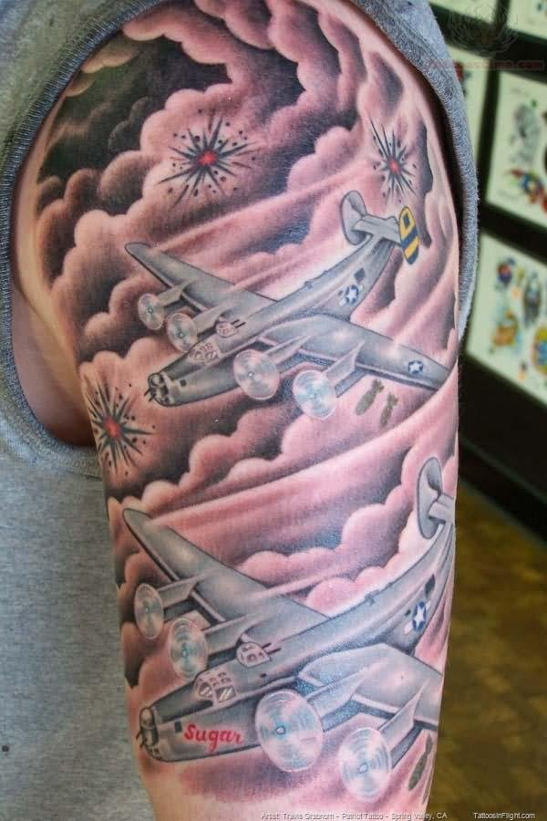 Cloud Tattoo Images Amp Designs