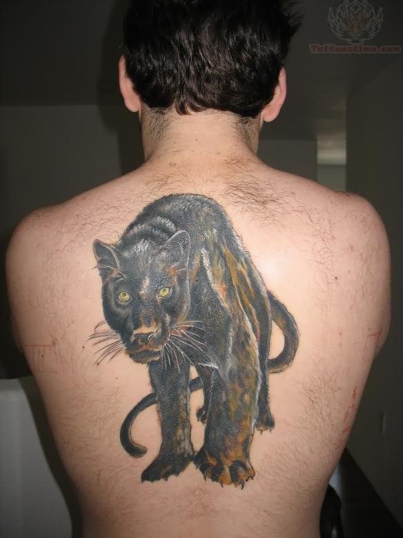 black puma tattoo
